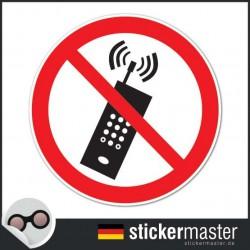 Telefonieren verboten