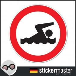 verbotenes Schwimmen