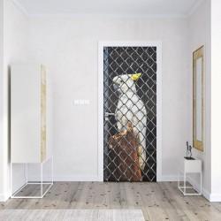 Türaufkleber Weißer Kakadu