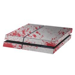PS4 Aufkleber Blutflecken