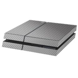 PS4 Aufkleber Carbon-Grau