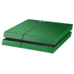 PS4 Aufkleber Carbon-Grün