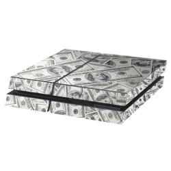 PS4 Aufkleber Dollars