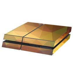 PS4 Aufkleber Geometrisch