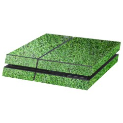 PS4 Aufkleber Gras