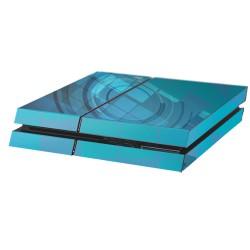 PS4 Aufkleber Ozean Quadrat