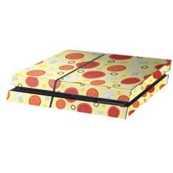 PS4 Aufkleber Pizza