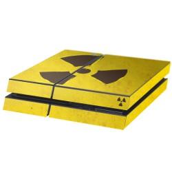 PS4 Aufkleber Puzzle Radioaktiv