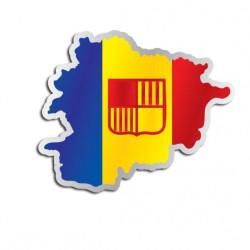 Länderaufkleber Andorra