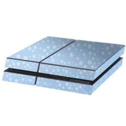 PS4 Aufkleber Schneeflocken