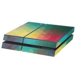 PS4 Aufkleber Dreiecke