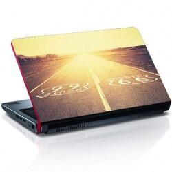Route 66 Laptop Aufkleber