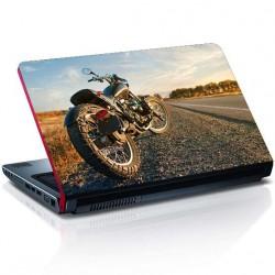 Motorrad Laptop Aufkleber