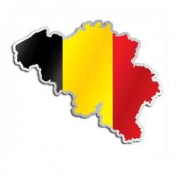 Länderaufkleber Belgien
