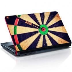 Laptop Aufkleber Dartscheibe