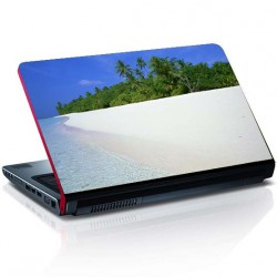 Laptop Aufkleber stranden