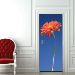 Türaufkleber Blume