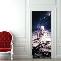 Türaufkleber Raumfahrer