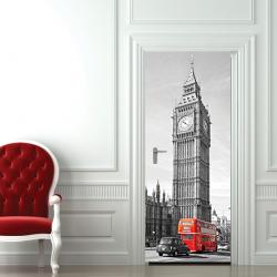 London Türaufkleber