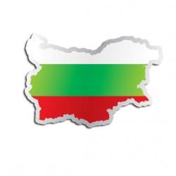 Länderaufkleber Bulgarien