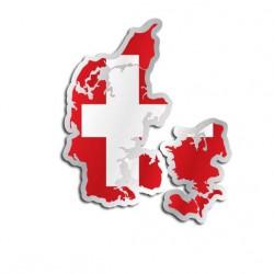 Länderaufkleber Dänemark