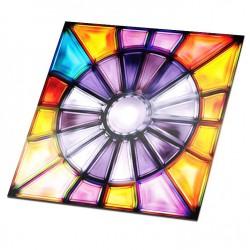 Fliesenaufkleber Glasmalerei 3