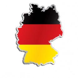 Länderaufkleber Deutschland