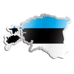 Länderaufkleber Estland