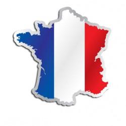 Länderaufkleber Frankreich