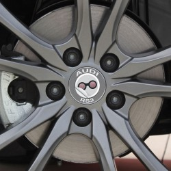 Nabendeckel Aufkleber Audi RS3