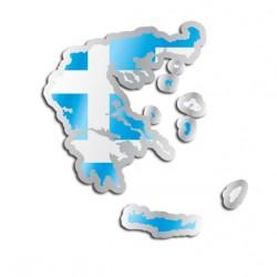 Länderaufkleber Griechenland