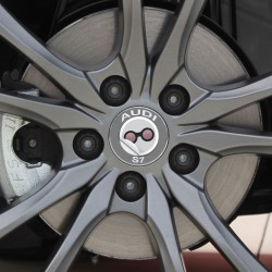 Nabendeckel Aufkleber Audi S7