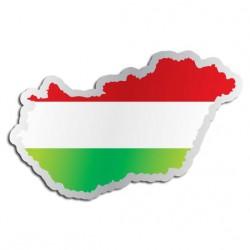 Länderaufkleber Ungarn