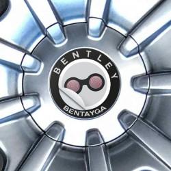 Nabendeckel Aufkleber Bentley Bentayga
