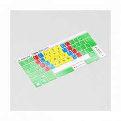 Blind Typen Tastaturaufkleber (Mit Qwerty)