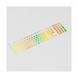 Rainbow Tastatur Aufkleber