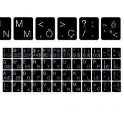 Tastatur Buchstaben - Türkische Q-To Tastatur Schwarz