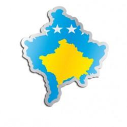 Länderaufkleber Kosovo