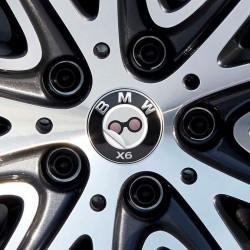 Nabendeckel Aufkleber BMW X6