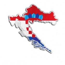 Länderaufkleber Kroatien