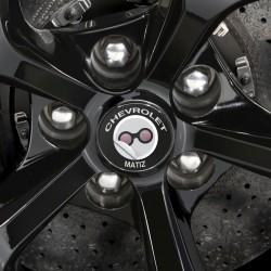 Nabendeckel Aufkleber Chevrolet Matiz
