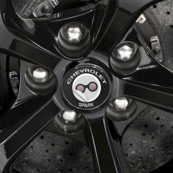 Nabendeckel Aufkleber Chevrolet Spark