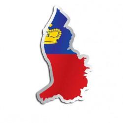 Länderaufkleber Liechtenstein