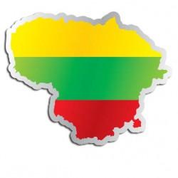 Länderaufkleber Litauen