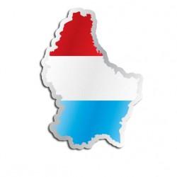 Länderaufkleber Luxemburg