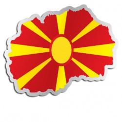Länderaufkleber Mazedonien