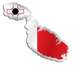 Länderaufkleber Malta