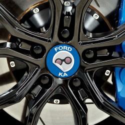 Nabendeckel Aufkleber Ford Ka