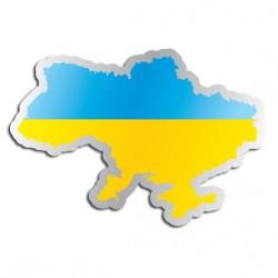 Länderaufkleber Ukraine