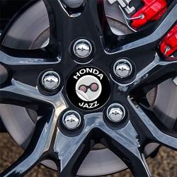 Nabendeckel Aufkleber Honda Jazz